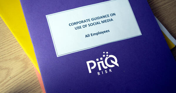 Social Media Compliance + Risk Policy